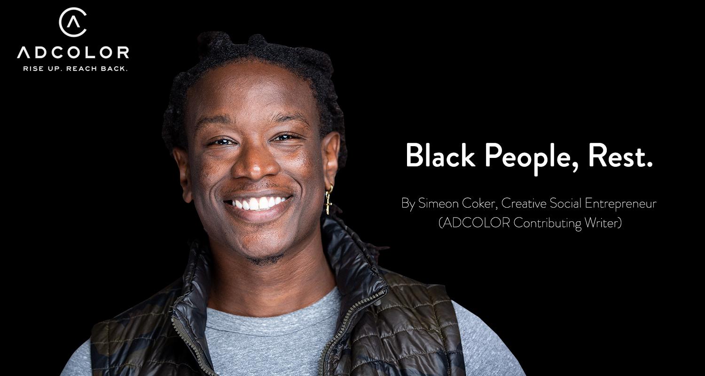 Black People, Rest.