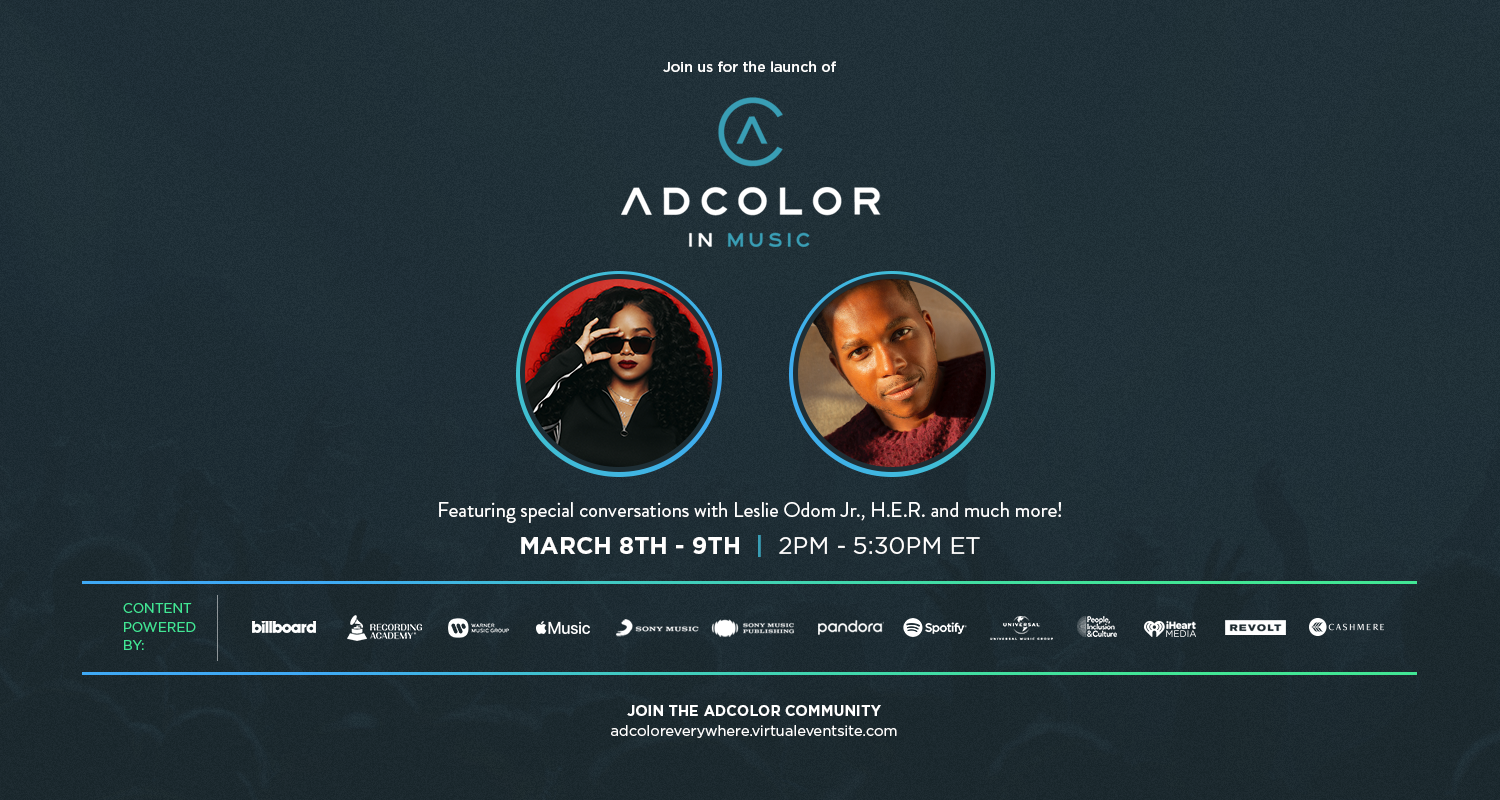 ADCOLOR in Music Announces Inaugural Event and Advisory Board